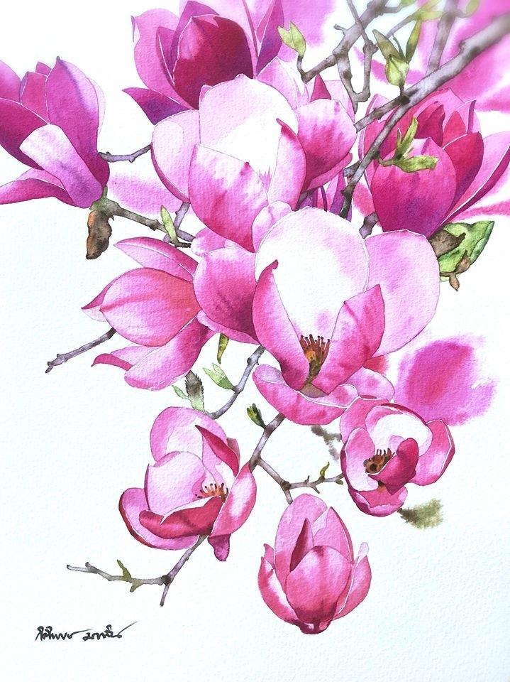 Watercolour Virtuoso: Kitipong Ti, фото № 21