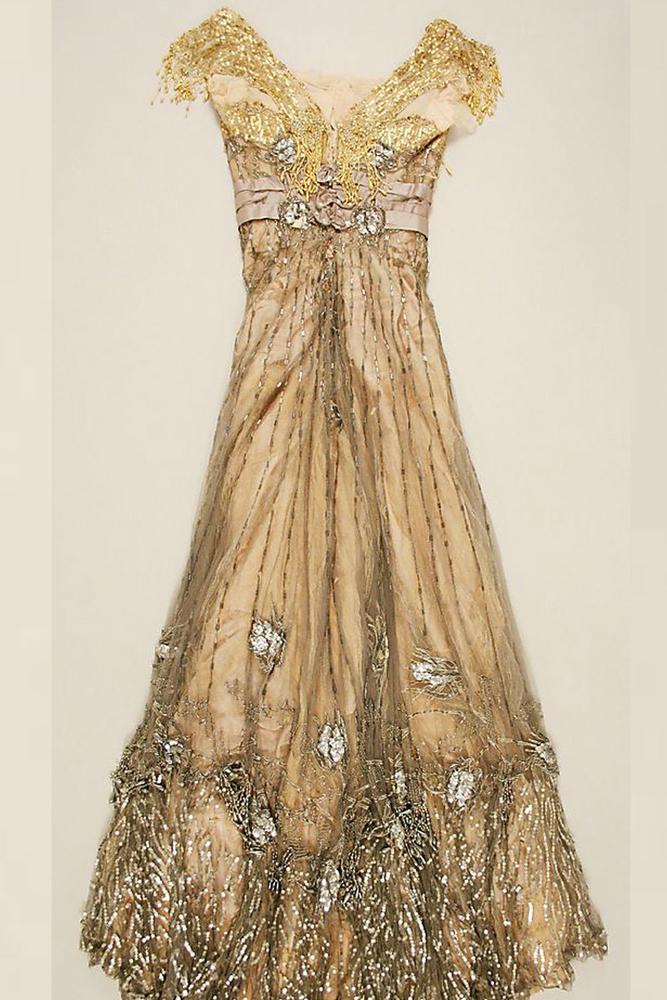 Вечернее платье 1907-1908 годов от Jacques Doucet, фото № 1