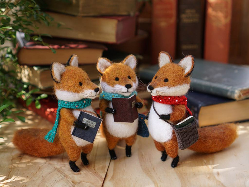 Mouse Stories: Adorable Felted Toys By Little Wool Tails, фото № 17