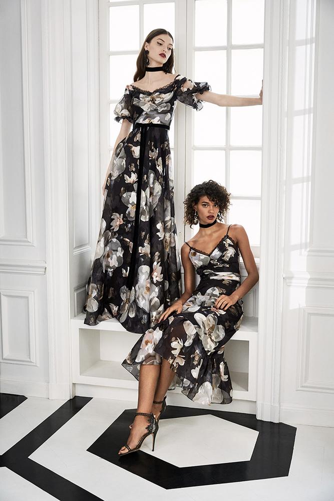 Drama Marquess: Fashion Collection Marchesa Notte Fall 2019, фото № 10