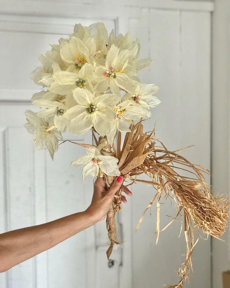Потрясающие бумажные цветы датской художницы arianne riksen-cott ansen, фото № 26