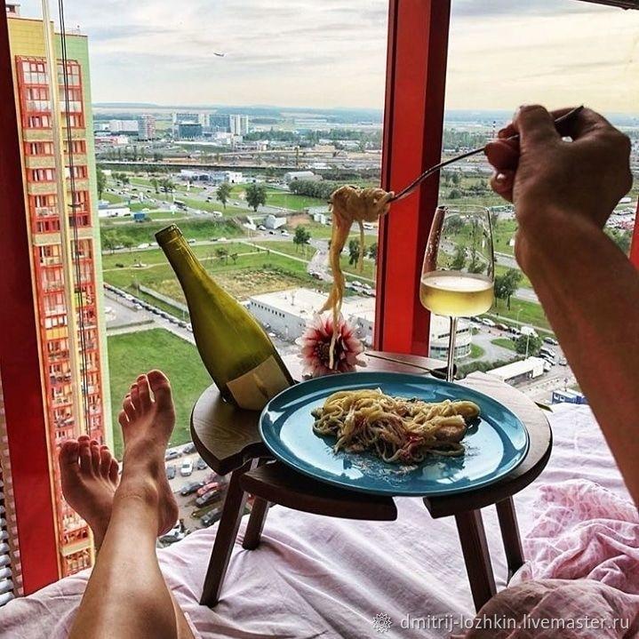 Обзор винных столиков от российских авторов-столяров, фото № 14