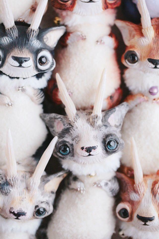 Alien Invasion Of Cuteness: 25+ Unusual Creatures By Anna Nazarenko, фото № 11