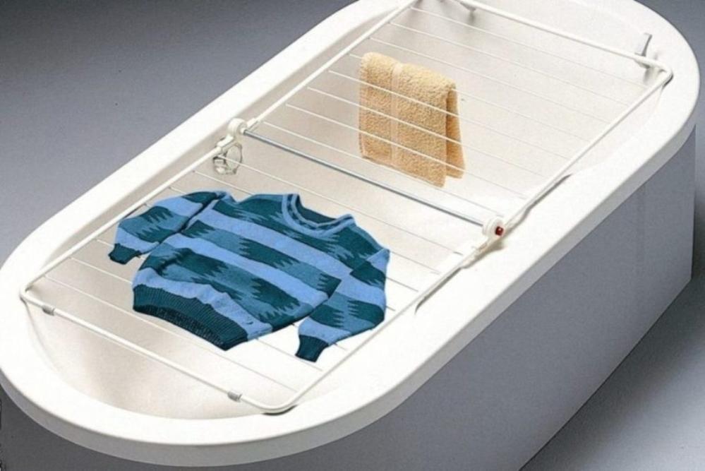 Где сушить белье в квартире красиво и удобно? (33 обычных и необычных решений), фото № 3