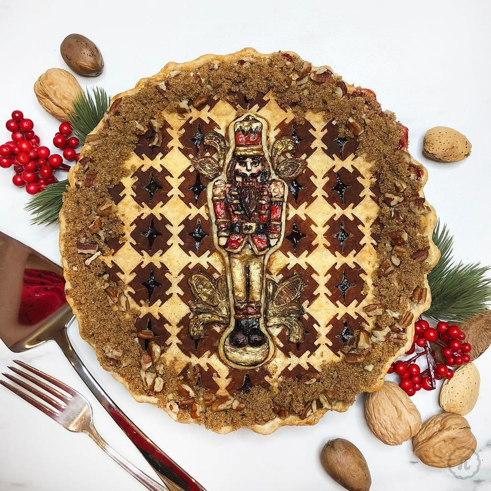 Self-Taught Cook Named Jessica Bakes Christmas Pies — And They Are Gorgeous!, фото № 17