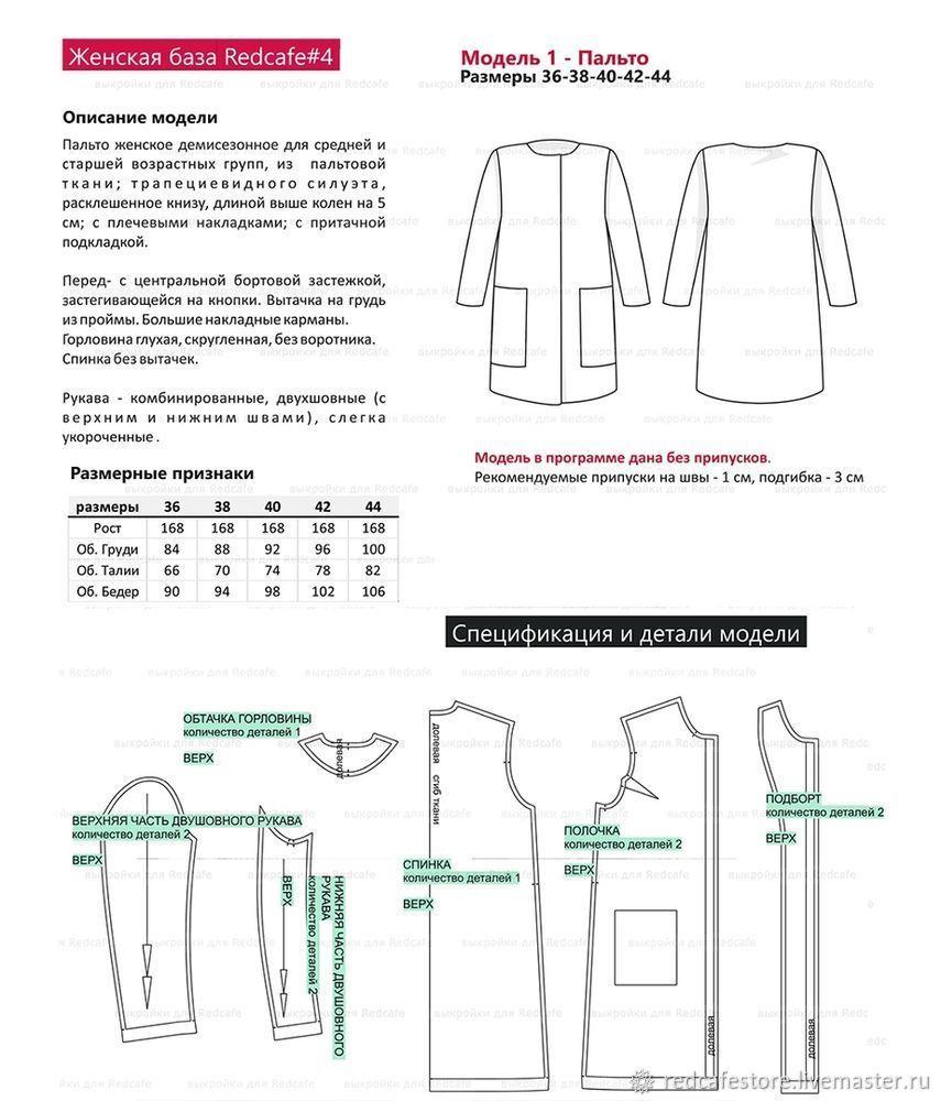 брендовая пальто