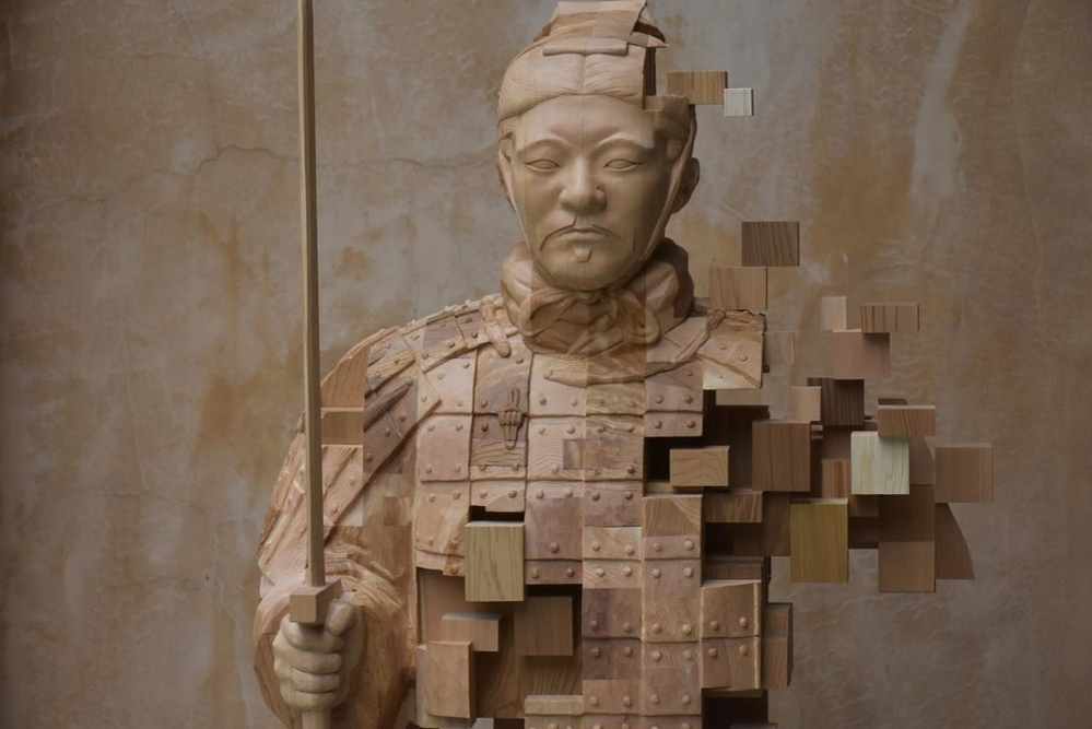Striking Wooden Sculptures By Hsu Tung Han, фото № 14