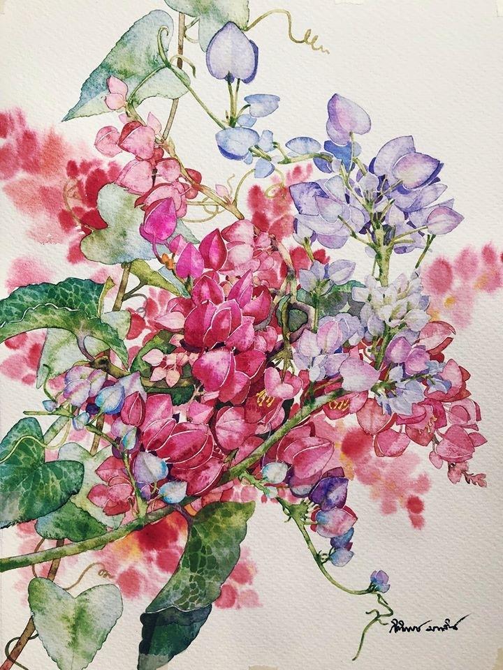 Watercolour Virtuoso: Kitipong Ti, фото № 19