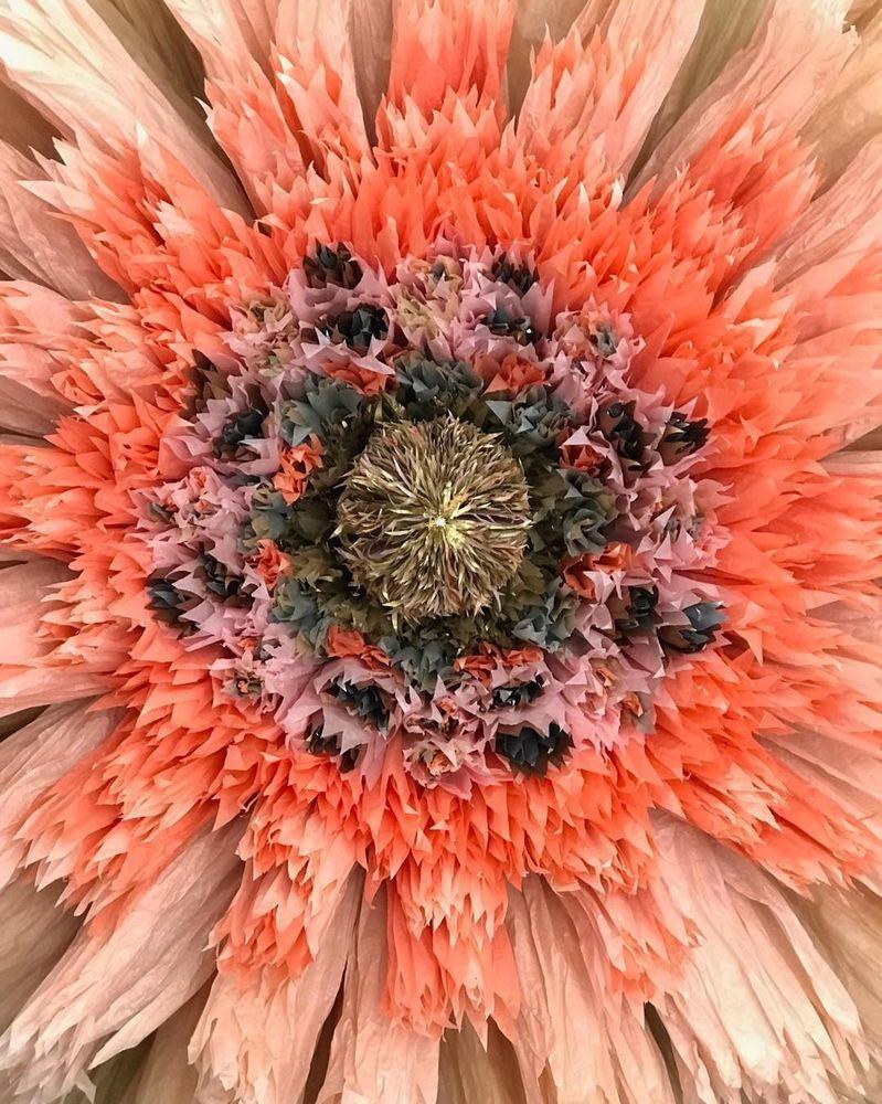 Потрясающие бумажные цветы датской художницы arianne riksen-cott ansen, фото № 19