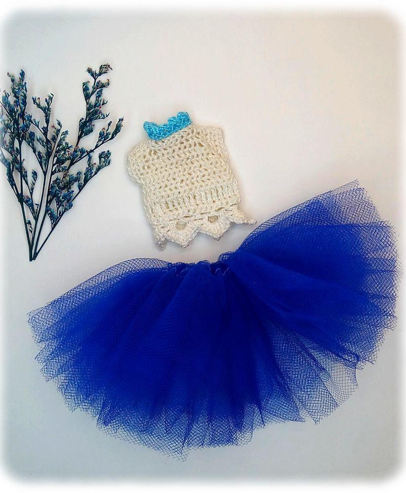 Создаем простое комбинированное платье на куколку, фото № 2