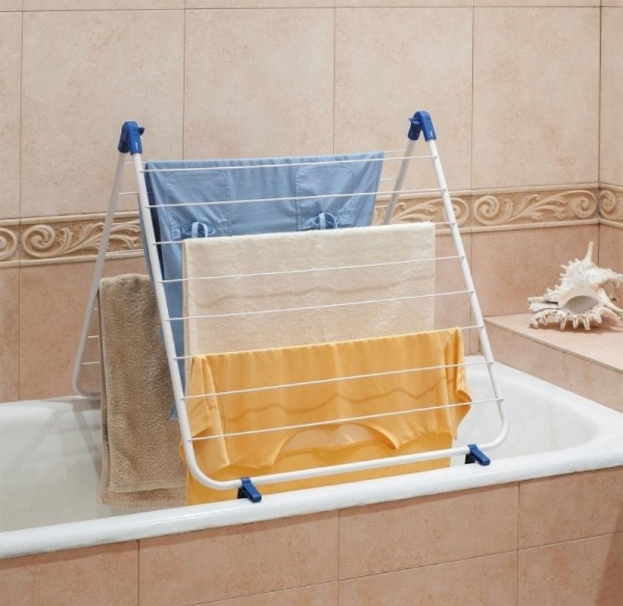 Где сушить белье в квартире красиво и удобно? (33 обычных и необычных решений), фото № 1