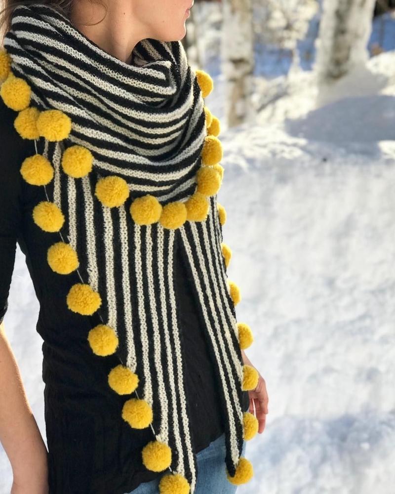 К зиме готовы! 50 идей вещей для вязания спицами, фото № 3