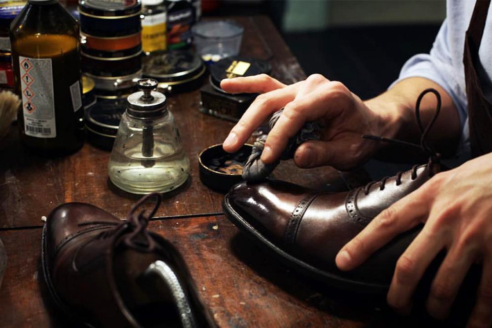 Глассаж обуви или зеркальная полировка, фото № 5