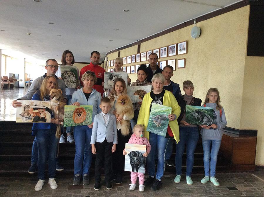 9-летний художник спасает животных из приюта: удивительный проект «Добрая кисть», фото № 16