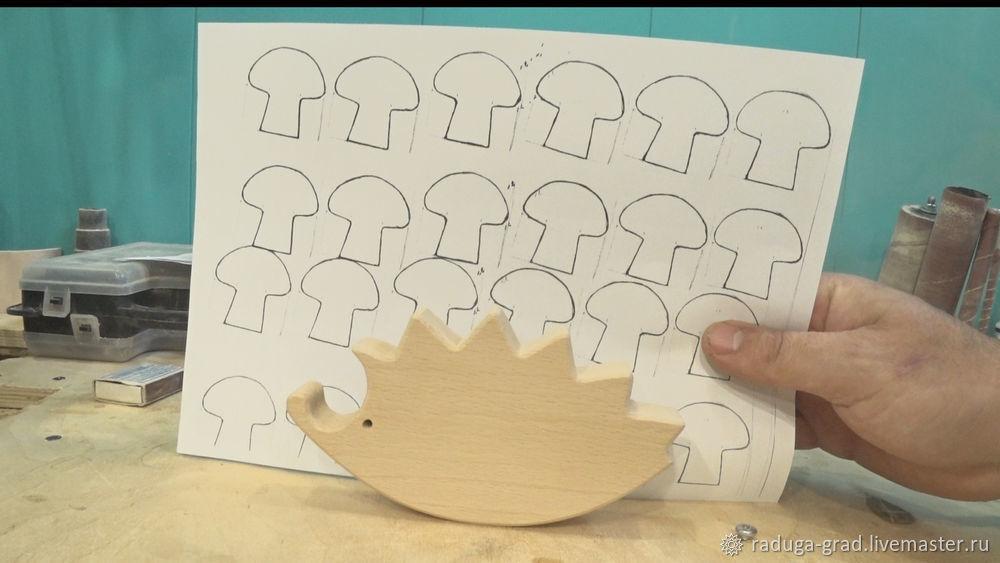Качественный край на деревянной игрушке и способ фрезеровки мелких деталей, фото № 10