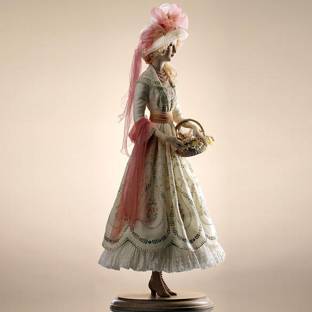 Фарфоровые куклы Александры Кукиновой