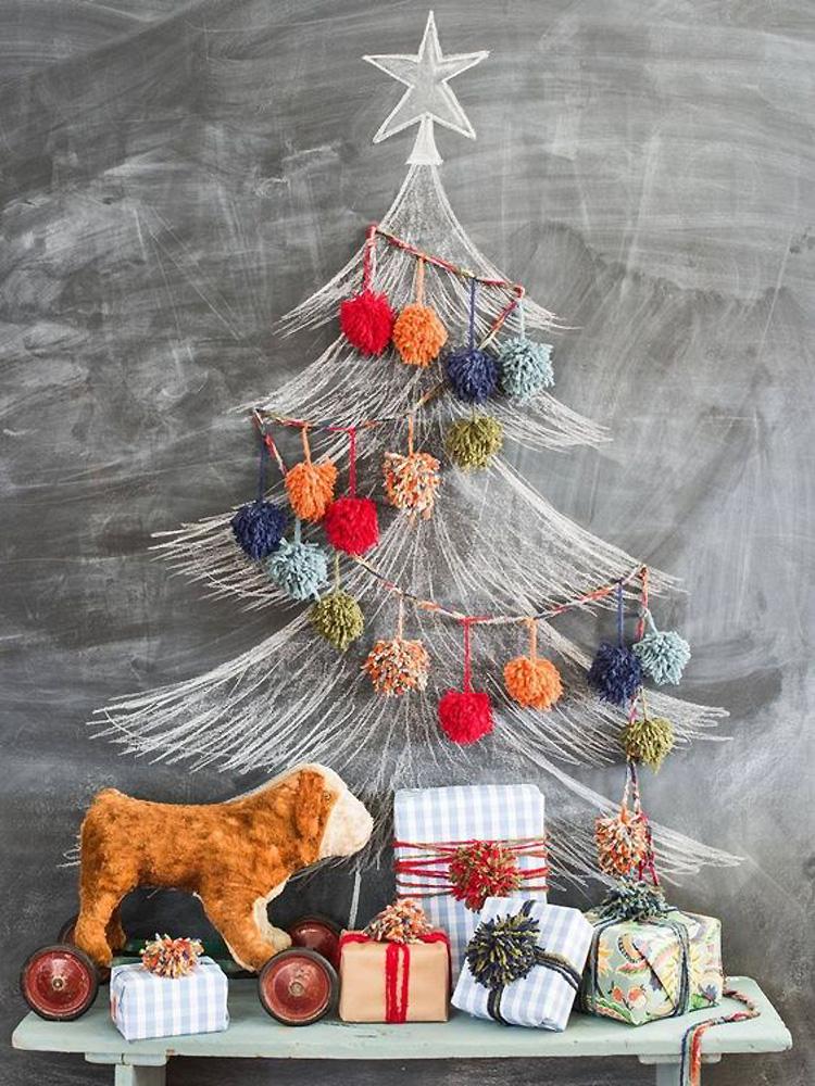 Новогодняя ёлка: 30+ оригинальных идей, фото № 20