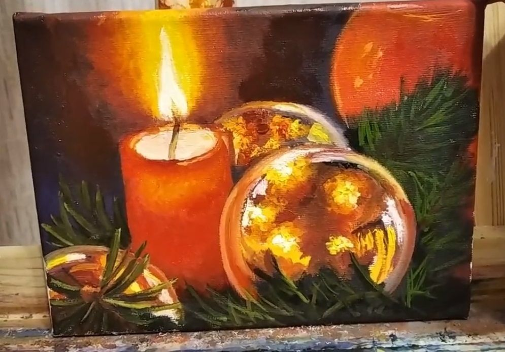 Video Tutorial On Creating Small Christmas Pictures, фото № 1