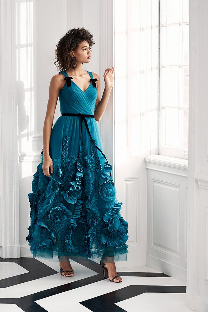Drama Marquess: Fashion Collection Marchesa Notte Fall 2019, фото № 8