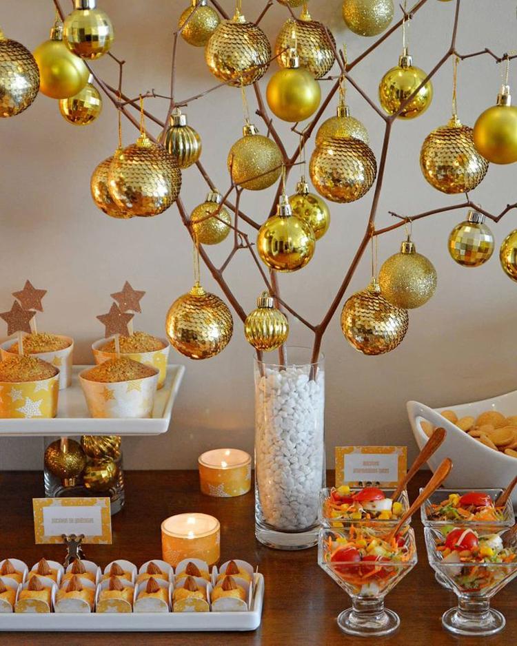 Золотой новогодний декор: 15 классных идей, фото № 12