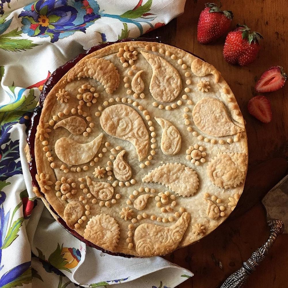 Самоучка печет пироги невероятной красоты: кулинарные шедевры от Helen Nugent + 3 секрета идеальной выпечки, фото № 28