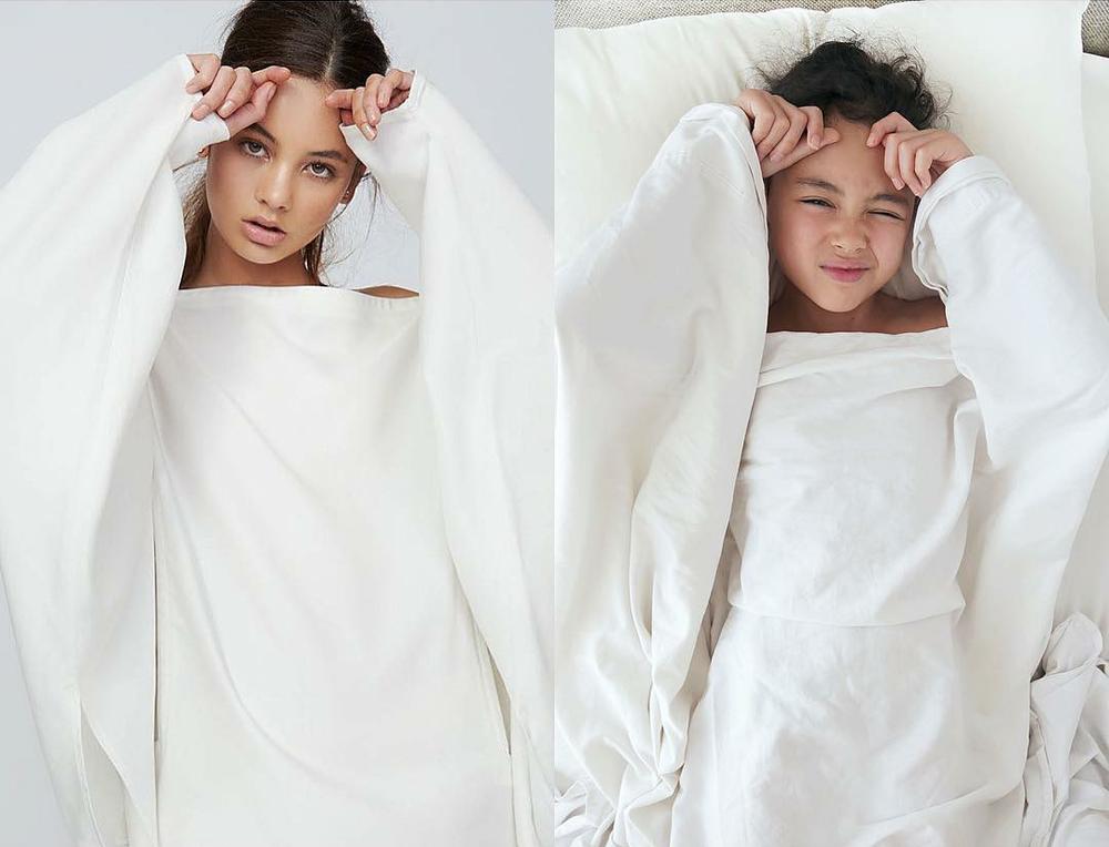 Эмма Стоун в платье из вафель и Рианна с кастрюлей на голове: 9-летняя звезда интернета удачно пародирует образы знаменитостей в домашних условиях, фото № 11