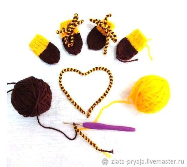 how to tie a lace, gold yarn, hook, the scheme of knitting, video tutorial, detailed tutorial, handmade lace