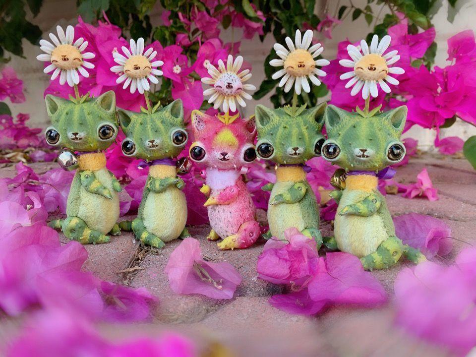 Alien Invasion Of Cuteness: 25+ Unusual Creatures By Anna Nazarenko, фото № 12