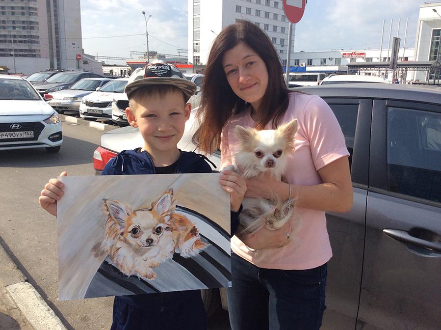 9-летний художник спасает животных из приюта: удивительный проект «Добрая кисть», фото № 13