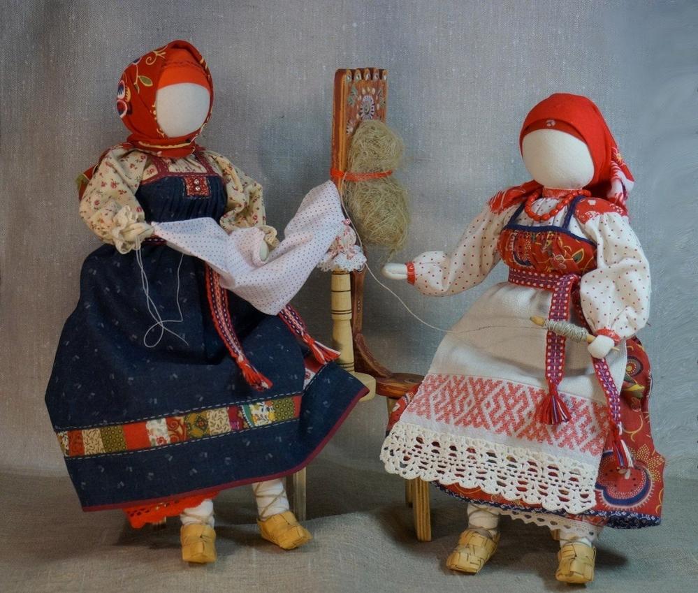 История и особенности русской тряпичной куклы, фото № 2