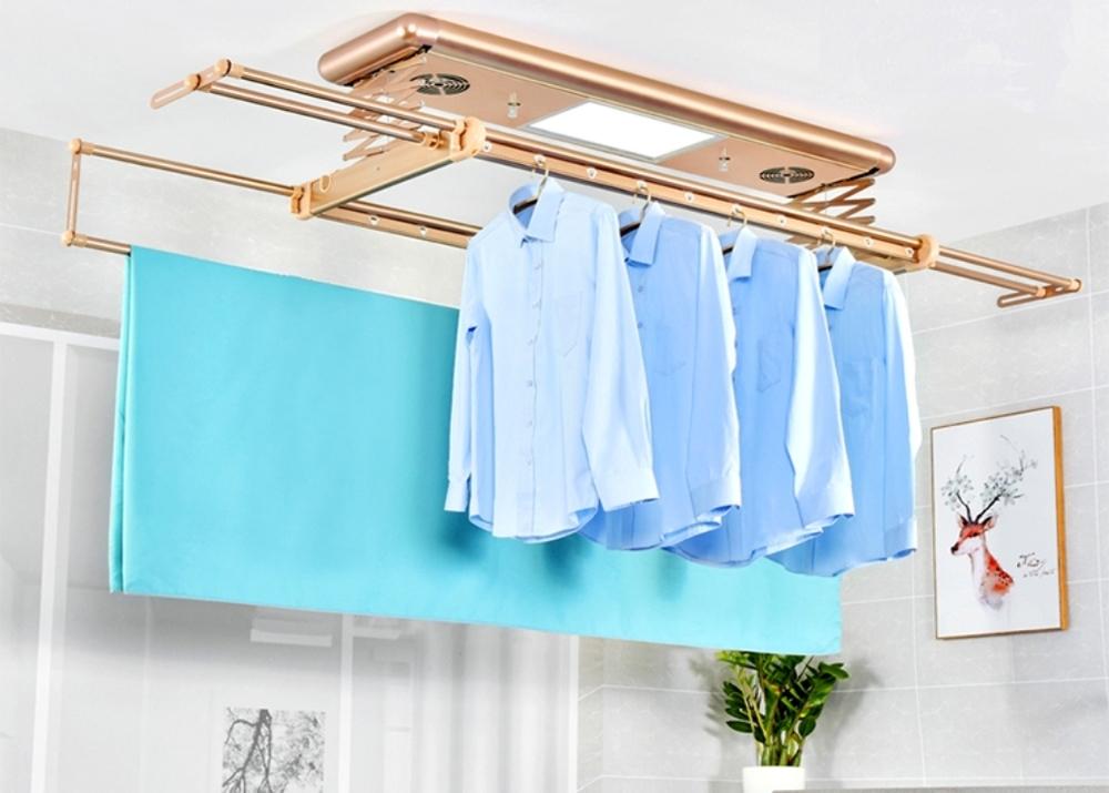 Где сушить белье в квартире красиво и удобно? (33 обычных и необычных решений), фото № 28