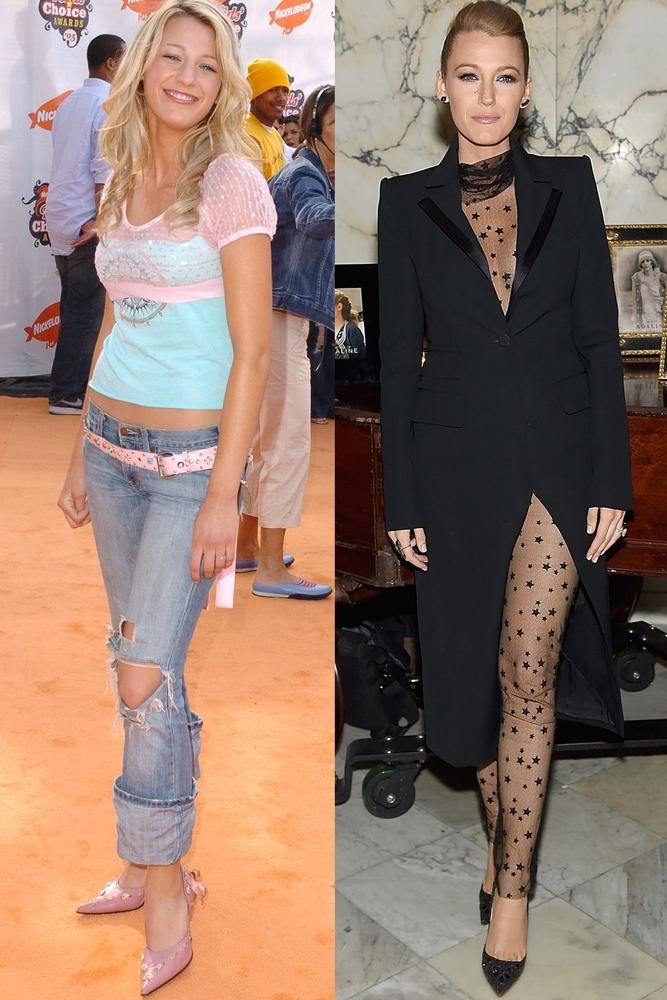 10 потрясающих «До и после» модные преображения, фото № 14