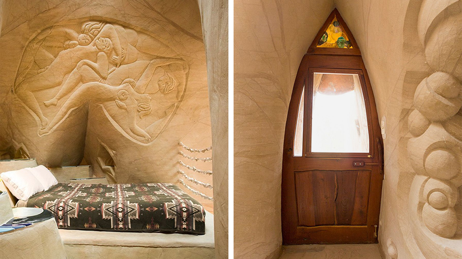 Восьмое чудо света: скульптор-отшельник создает невероятные пещеры собственными руками, фото № 12