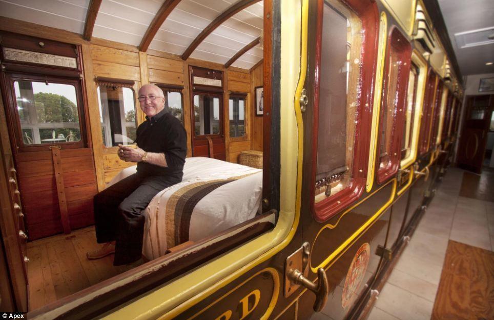 Необычный дом британки Эммы Хаммонд из вагона, фото № 32