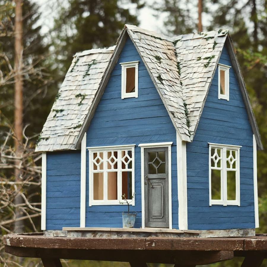 Финская художница создает дома мечты... в миниатюре, фото № 13