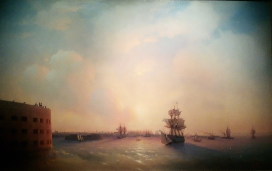 Unique Exhibition of Paintings by Aivazovsky, фото № 7