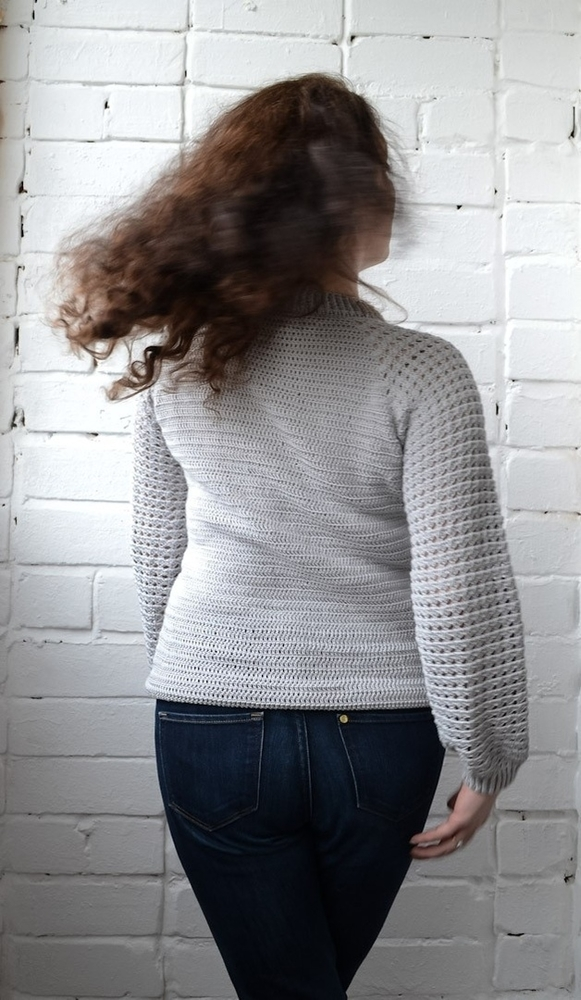 Бесшовный пуловер реглан, фото № 6