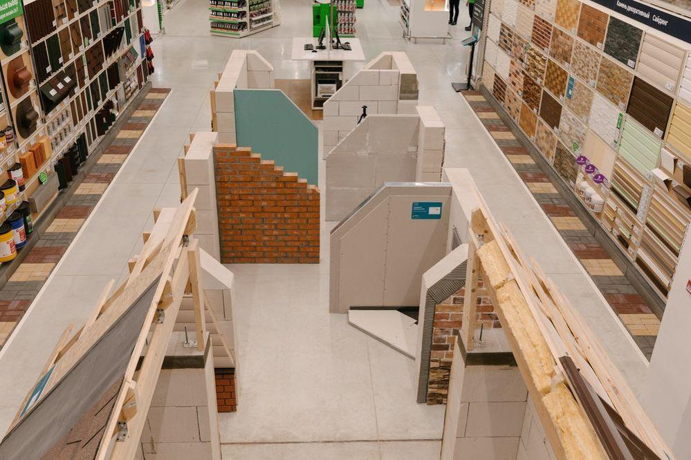 Новый «Леруа Мерлен ЗИЛ» не просто строительный магазин. Там есть мастерская, свежесрезанные цветы и даже роботизированная нога!, фото № 8