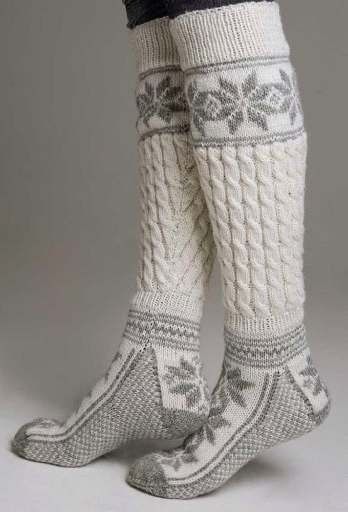 К зиме готовы! 50 идей вещей для вязания спицами, фото № 36