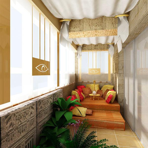 Можно ли устроить спальню на балконе: за и против, фото № 5