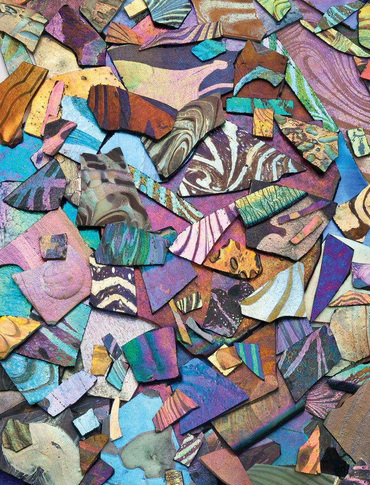 glass mosaic, history