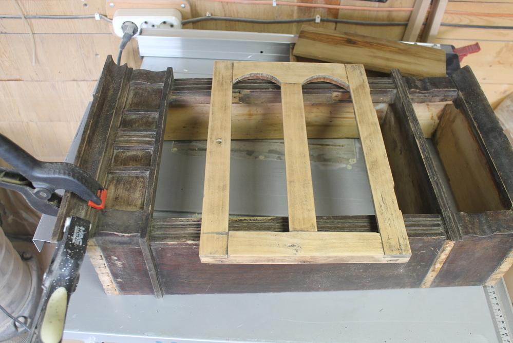 Реставрация старого шкафчика, фото № 4