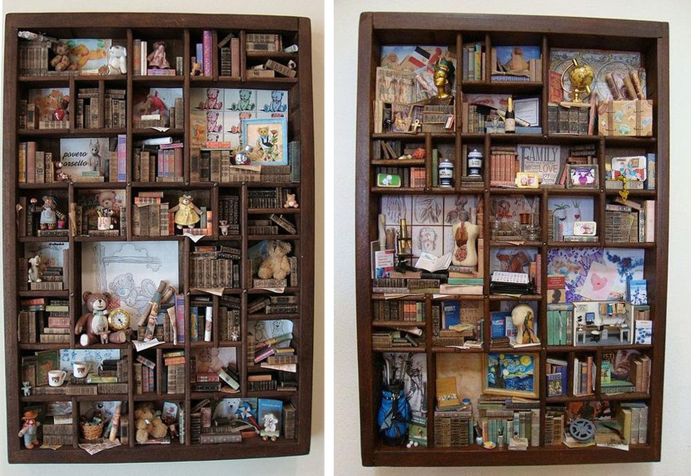 Коллекционируем красиво: 40+ впечатляющих полок для хранения коллекций, фото № 3