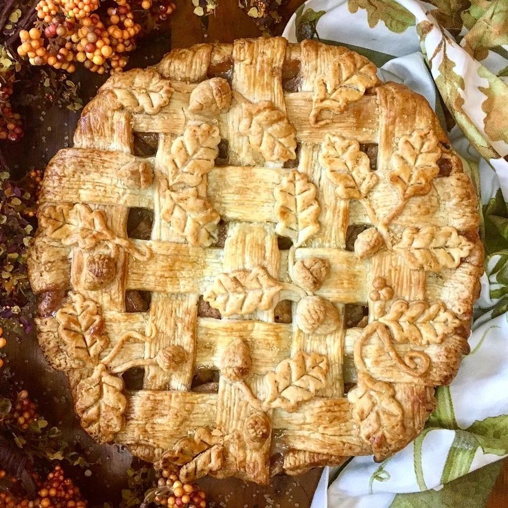 Самоучка печет пироги невероятной красоты: кулинарные шедевры от Helen Nugent + 3 секрета идеальной выпечки, фото № 24