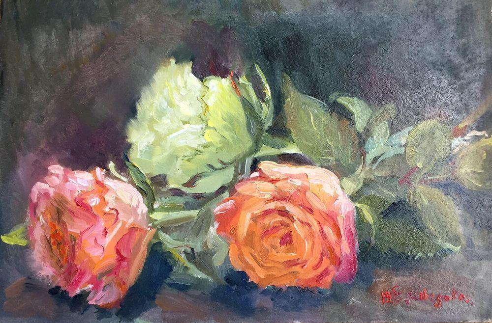 новая картина розы