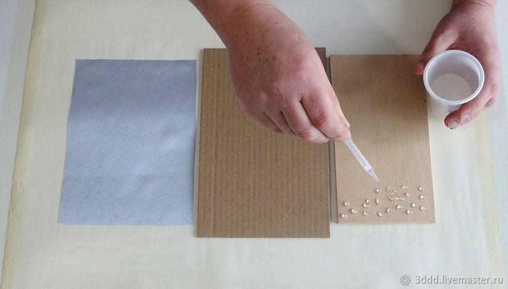 Застывший дождь, или как сделать эффект лотоса на любом материале, фото № 6