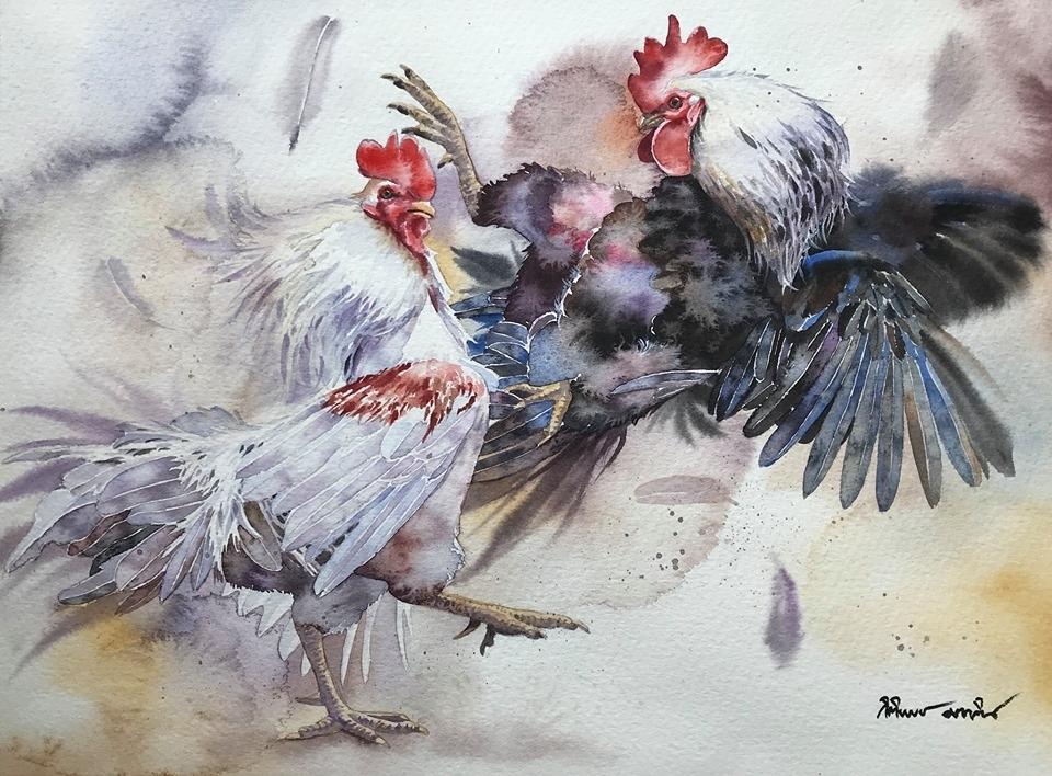 Watercolour Virtuoso: Kitipong Ti, фото № 33