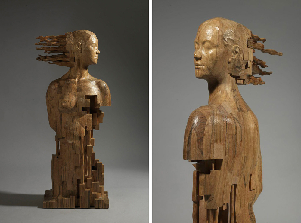 Striking Wooden Sculptures By Hsu Tung Han, фото № 15