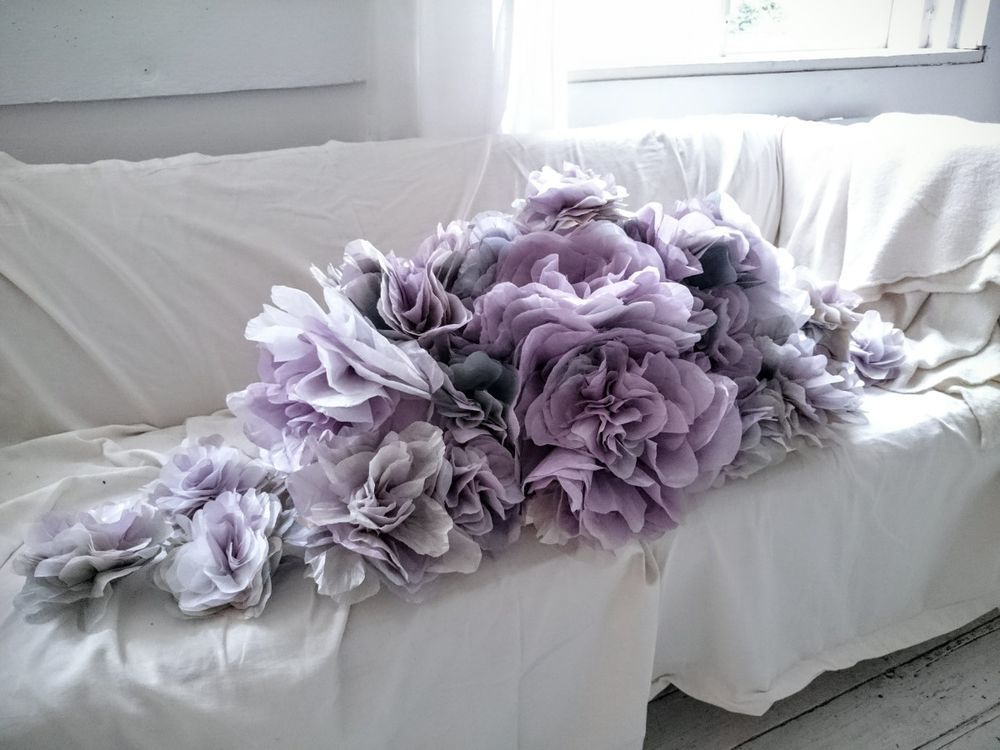 Потрясающие бумажные цветы датской художницы arianne riksen-cott ansen, фото № 45