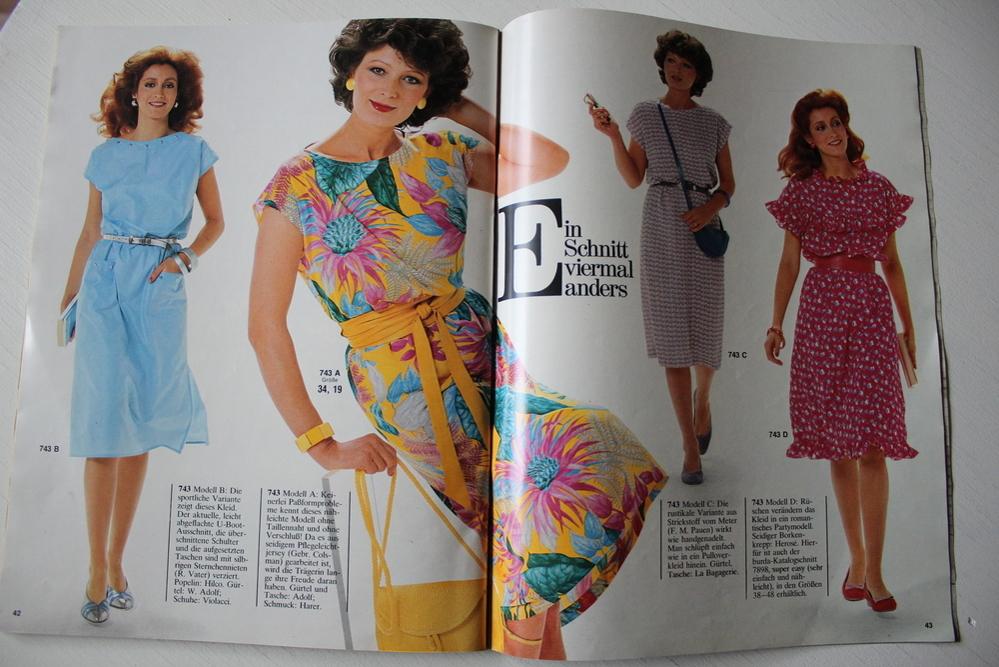 Бурда — спец. выпуск — мода для невысоких  -Лето  1982, фото № 14